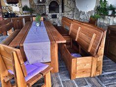 Nádherná pergola na Moravě | Dřevěný zahradný nábytek Kulhánek