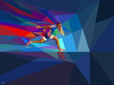 Graphics for Yahoo advertising campaign for the coverage of London 2012 Olympiad byCharis Tsevis