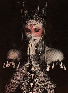 Modern Fairytale/ into the darkness/karen cox. Raven Gown~Snow White