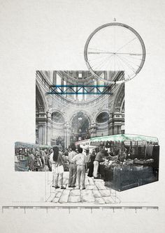 church/market/cinema: a daily transform.