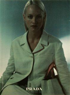 Amber Valletta for Prada Spring 1998 by Glen Luchford