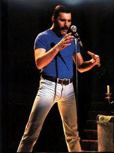 Queen ~ Freddie Mercury 1986