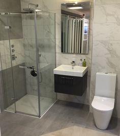 Ceramica Saintagostino tiles, Catalano Zero with Zucchetti-Kos Soft brassware Bathroom Showrooms, Bathrooms, Innovation Design, Kos, Bathroom Ideas, Tiles, Display, Keep Running, Room Tiles