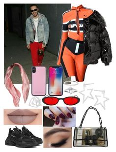 """at Molly's in NYC with Liam"" by khalifeh ❤ liked on Polyvore featuring Puma, Balenciaga, Vetements, Chanel, Jennifer Zeuner, Jeffree Star, Jack Wills, Ileana Makri, StreetStyle and LiamPayne"