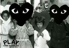 Shared by maru Find images and videos about fashion, play and comme des garcons on We Heart It - the app to get lost in what you love. Arte Peculiar, Comme Des Garcons Play, Magazine Mode, Magazine Covers, Hallowen Costume, Rei Kawakubo, Pose, Mexica, Fashion Advertising