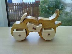 One-off motorcycle ring box.