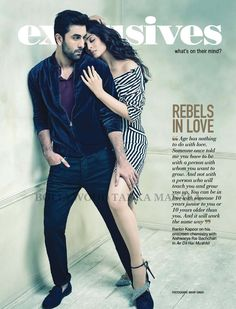 Aishwarya And Ranbir Scorch It Up On The Cover Of Filmfare Magazine November 2016