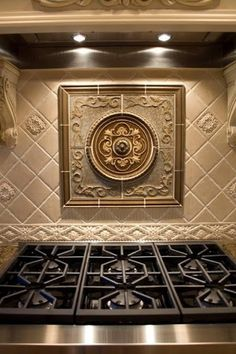 Superbe Decorative Tiles For Kitchen Backsplash | Kitchen Backsplash Mozaic Insert  Tiles, Decorative Medallion Tiles ... | Home Design | Pinterest | Kitchen  ...