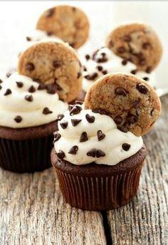 #Chocochips #Cupcake