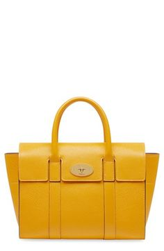 Mulberry 'Small Bayswater Classic' Leather Satchel