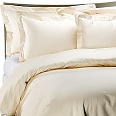 image of Palais Royale™ Hotel Collection Duvet Cover in Ivory