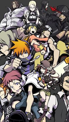 The World Ends With You. Saddest video game I've ever played tbh, not even half way through it and I've already cried