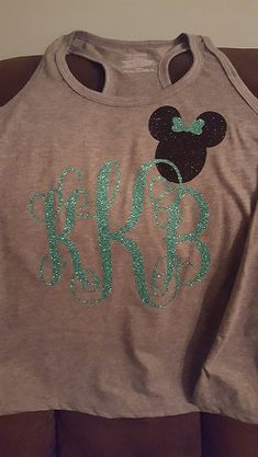 Monogram Disney shirt by Ashleysdesigns4you on Etsy