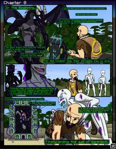 Minecraft: The Beginning Chapter 0 - 1 by TomBoy-Comics on deviantART
