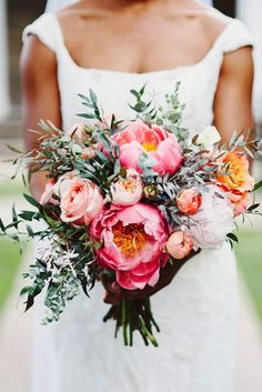 Tightly packed bouquets of bright blooms are always beautiful, but you can lend your wedding day unique charm by choosing extraordinary branches, leaves, and flowers like olive branches, protea, or lavender. Get inspired by 13 alternative wedding bouquet ideas here.