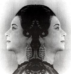 egyptian mulsician, Oum Kalthoum