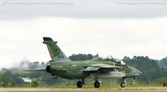 Brazilian Air Force (FAB) Alenia-Aermacchi-Embraer A-1/A-1B AMX International advanced trainer/light attack aircraft.