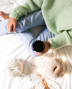 classic sweater knitting bymyself. 100% handmade