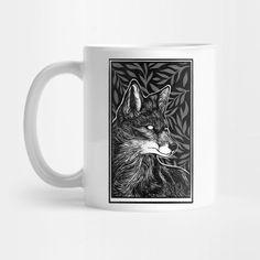 Shop Waiting - Dark Fox Art fox mugs designed by MonoMano as well as other fox merchandise at TeePublic. Fox Art, Mug Designs, Notebooks, Cat Lovers, Waiting, Geek Stuff, In This Moment, Mugs, Dark