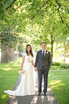 Nancy Barrus custom couture, modest wedding gown, silk satin wedding gown, wedding gown with sleeves, vintage inspired wedding gown