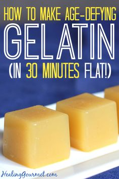 Learn how to Age-Defying Gelatin in 30 Minutes - Healing Gourmet (tag: bone broth) Paleo Recipes, Real Food Recipes, Cooking Recipes, Sashimi, Gelatin Recipes, Beef Gelatin, Protein, Ceviche, Pressure Cooking
