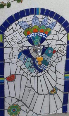 Mosaico .pared