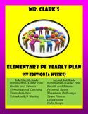 Elementary Physical Education Lesson Plans 2015-2016 1st Edition