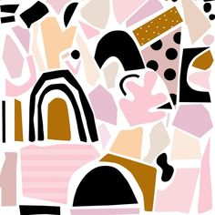 Funky patterns by Ashley Mary Art  | Hesby