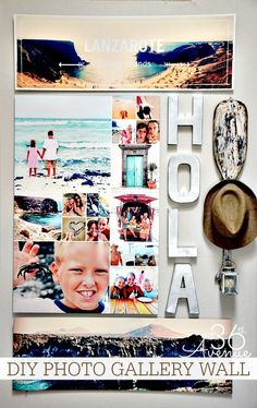 Home Decor - How to create a Photo Wall Gallery + enter to win $200 Shutterfly Store Credit! the36thavenue.com #shutterflydecor