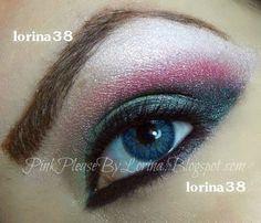 Colorful Smokey makeup look , EOTD