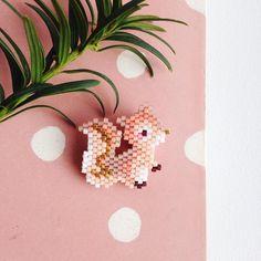 Écureuil by Rose Moustache rosemoustache.com