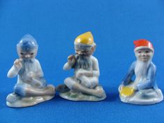 Wade Ireland Figurines Lucky Leprechaun with by ElodieVintageHome, $55.00