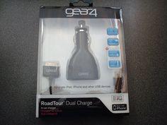 Gear4 RoadTour Dual Charger Kfz Ladegerät iPhone, iPad, iPod und alle USB Geräte | eBay