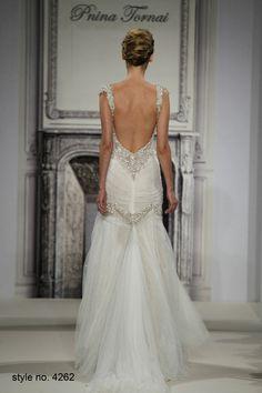 Daring and Sexy Pnina Tornai Wedding Dresses Spring 2014 Part 2. To see more: http://www.modwedding.com/2014/01/04/daring-sexy-pnina-tornai-wedding-dresses-spring-2014-part-2/ #wedding #weddings #fashion