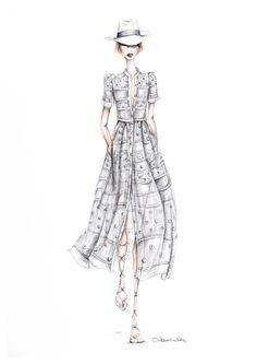 Fashion illustration // Alexandra Nea