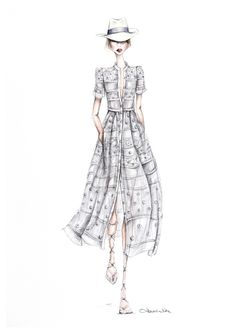 Fashion illustration // Alexandra Nea