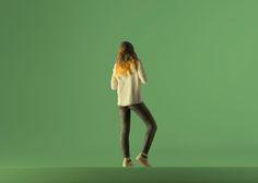 je te tourne le dos #Moïmee3D #CoolDeLuxe #CourBleue #BHV #Danse #Moïmap #Design