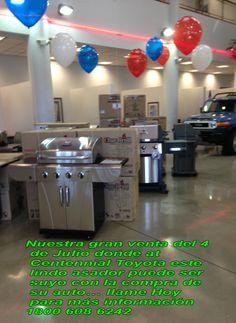 Nuestra gran venta del 4 de Julio donde at Centennial Toyota este lindo asador puede ser suyo con la compra de su auto… llame Hoy para más información 1800 608 6242