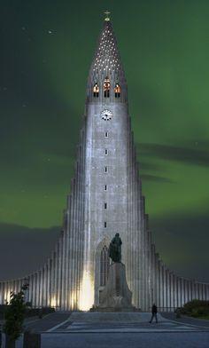 Hallgrímskirkja - Hallgrims church - Reykjavík, Iceland by Kaja Þrastardóttir, via 500px