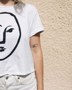 Voilà. Meet our newest Matisse tee: the hand painted Visage top. Find it in the shop @shoplemarket lots of new found items