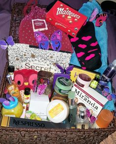 What would you put in your cuddle basket?