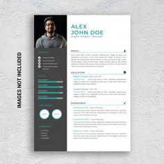 Professional Resume Writing Service, Resume Writing Services, Resume Design Template, Cv Template, Templates, Data Flow Diagram, Portfolio Web Design, Letterhead, Photoshop