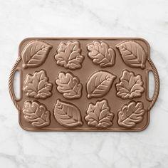 Nordic Ware Leaf Cakelet Pan