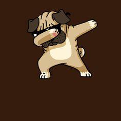 Dabbing Pug funny shirt dancing hip hop and the dab pose Cute Dog Wallpaper, Cartoon Monsters, Pug Art, Kawaii Chibi, Cartoon Memes, Cute Cartoon Wallpapers, Cute Dogs, Cute Pictures, Cute Disney