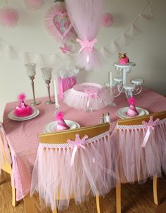 Princess Party - some of this would be cute...