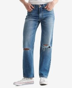 Women's Boy Jeans Slim Thighs, Boys Jeans, Lucky Brand, Legs, Fitness, Casual, Cotton, Pants, Shopping