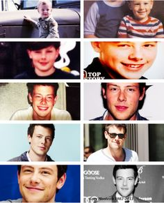 Cory Monteith + through the years