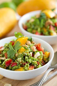Thai Style Broccoli Salad with Sweet Chili Lime Dressing | GI 365  #thai #salad http://gi365.info/food/thai-style-broccoli-salad-with-sweet-chili-lime-dressing/ ❤️