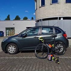 #vanmiddag ( op maandag 20 juli ) heb ik een #fiets rit gemaakt van iets meer dan 40 km. Ik fietste van huis naar #Kardinge in #Groningen. Daar werd ik opgepikt door @mariekebooisma  zo hoefde ik niet weer terug naar huis te fietsen  Lekker makkelijk hè. Het was qua weer een mooie dag het werd een graad of 20 en er hingen weinig wolken in de lucht. Owja gisteren waren mijn ouders nog op tv op o.a. #rtvnoord en #sbs6 i.v.m. de recente #aardbevingen. Keer op keer hebben hun scheuren / schade aan h