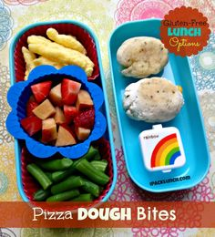 Gluten-free toddler lunch ideas and snack list